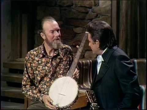 Johnny Cash & Pete Seeger